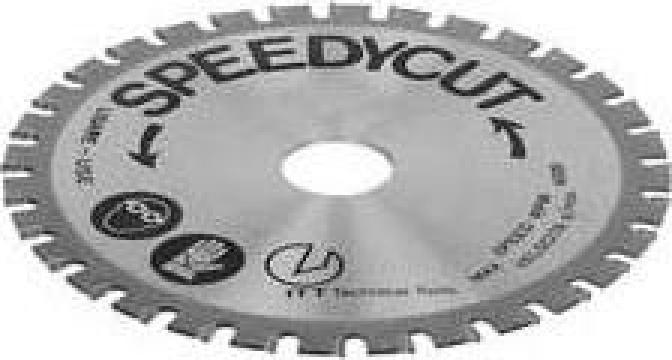 Disc din carburi pentru fierastrau 0537-012 de la Nascom Invest