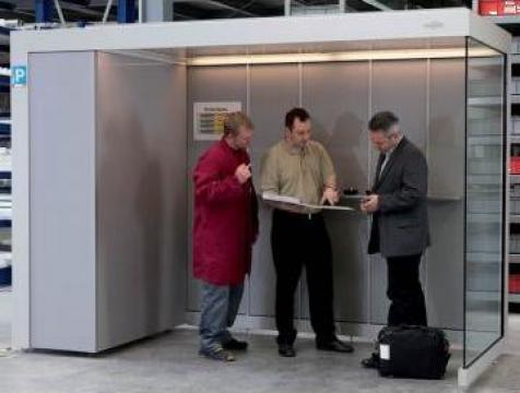 Cabina pentru fumatori Economy-Line de la Parcon Freiwald Srl