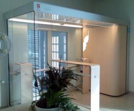 Cabina pentru fumatori Designer-Line de la Parcon Freiwald Srl