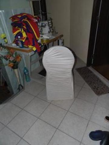 Huse de scaune licra bej