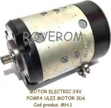 Motor electric pompa ulei motor D6, 3D6, YaMZ-240 de la Roverom Srl