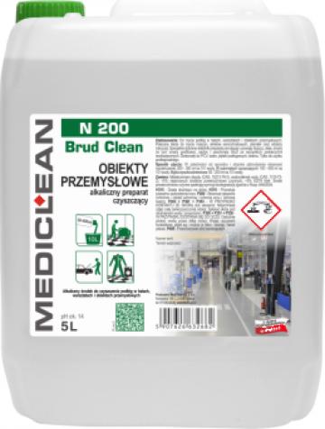 Solutie pentru curatare pardoseala industriala N 200 de la Cleaning Group Europe