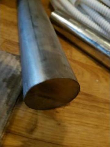 Bara inox AISI 321 fi 60 x 500 mm, 11.5 kg de la Baza Tehnica Alfa Srl