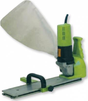 Cutter electric pentru decupat fasii de material