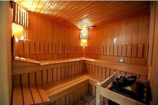 Mobilier sauna de la Landscape
