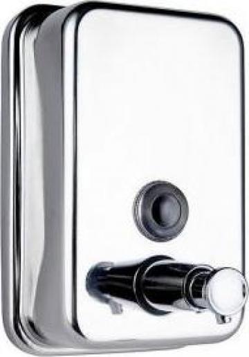 Dozator de sapun lichid inox ECO-J4080BR de la Best Distribution Srl