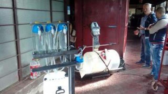Instalatie dezinfectat sticle cu ozon cu sistem imbuteliere de la Gamm Productie Servicii Comert Srl