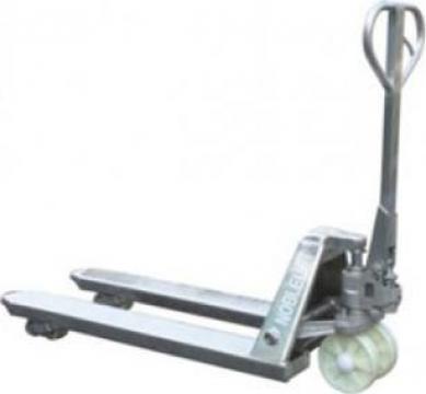 Transpalet manual 2.5 t inox de la Electrofrane