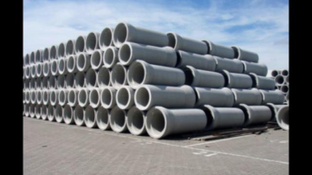 Tuburi armate din beton de la Moblux Stradal SRL