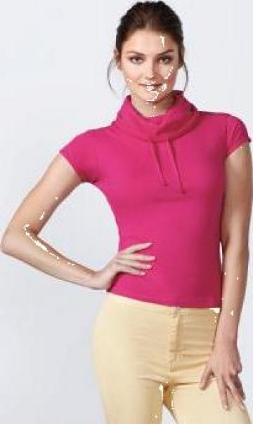 Tricou dama cu guler inalt Laurus
