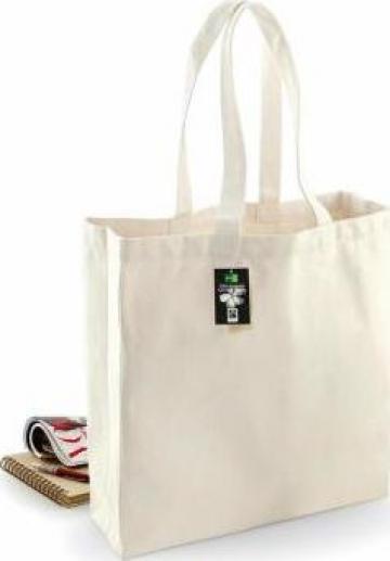 Sacosa/geanta bumbac Fairtrade Cotton Classic Shopper de la Best Media Style Srl