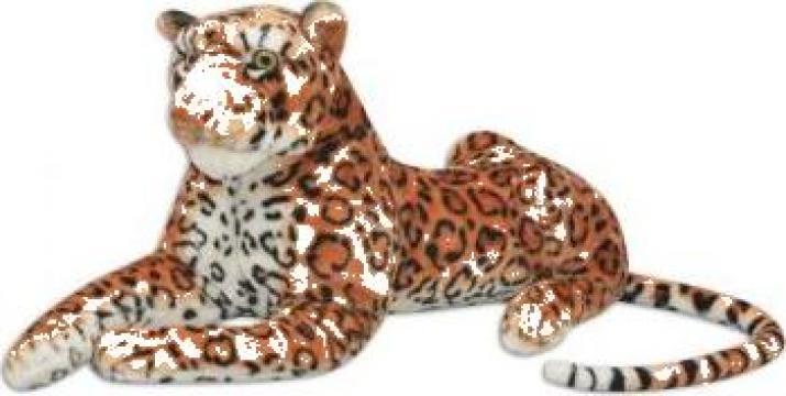 Jucarie leopard din plus maro XXL de la Vidaxl