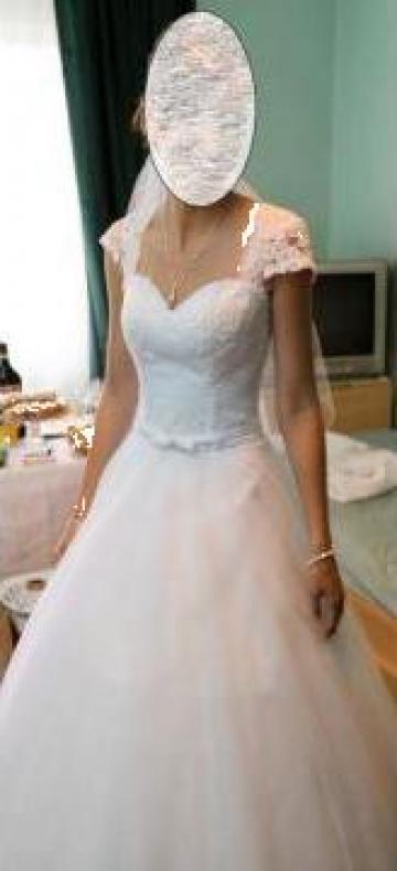 Rochie de mireasa printesa de la