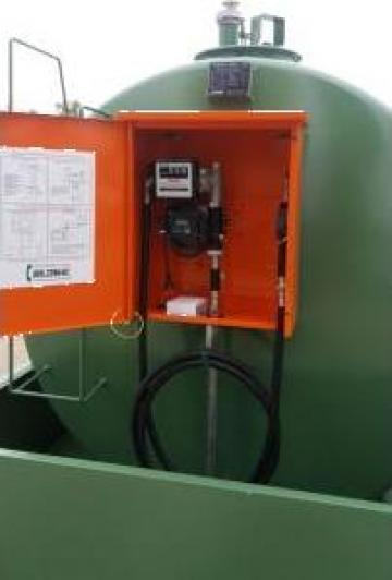 Statie motorina 9.000 litri cu pompa in caseta de la Tehnica Mobila Oil
