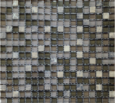 Mozaic marmura si sticla MMX006 de la Settimo Concept