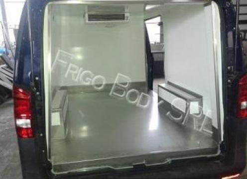 Masina pentru transport funerar de la Sc Frigo Body Srl