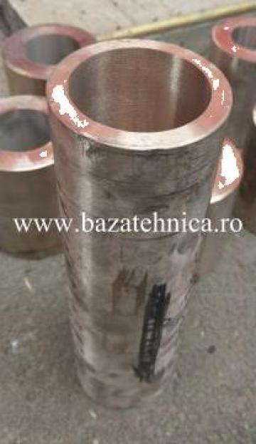 Bucsa bronz 90X70X300 mm, aliaj CuSn12 de la Baza Tehnica Alfa Srl