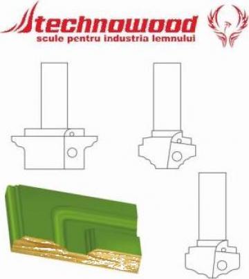 Freza CNC pentru usi 4 de la Technowood Srl