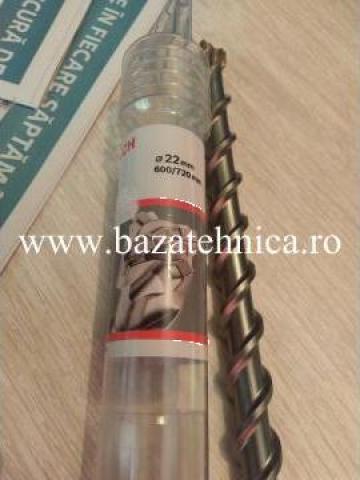 Burghiu BG SDS Max Speed 22x600x720 mm de la Baza Tehnica Alfa Srl