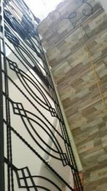 Balustrada si scara fier forjat de la Maril Met Conf