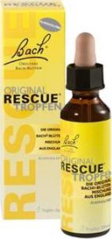 Supliment alimentar pentru atac panica Rescue Remedy 20 ml de la Pfa Mircea Luminita