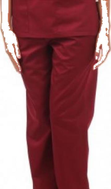 Pantalon visiniu de lucru