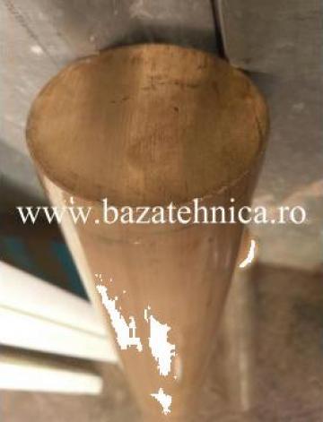 Bara rotunda alama fi 90, aliaj CuZn39Pb3 de la Baza Tehnica Alfa Srl