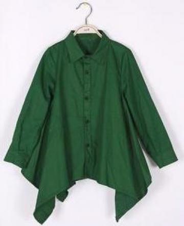 Camasa pentru copii Fashion, verde de la A&P Collections Online Srl-d