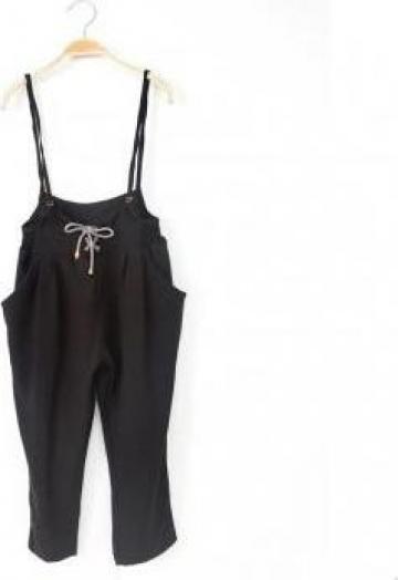 Set fetite bluza si pantaloni cu bretele de la A&P Collections Online Srl-d