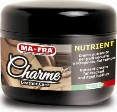 Detergent spuma pentru tapiterii din piele Charme Nutrient de la Cleaning Group Europe
