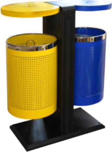 Cos de gunoi Icikala Dual Extern 82,5x40x94x5cm de la Basarom Com