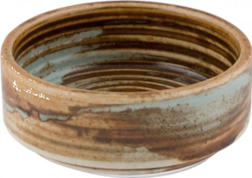 Bol joker ceramica Bonna colectia Coral 6cm de la Basarom Com