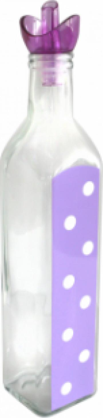 Sticla ulei masline M-151251 1000ml mov cu buline de la Basarom Com