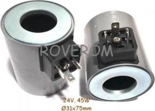 Bobina 24V, d31x75mm, 45W de la Roverom Srl