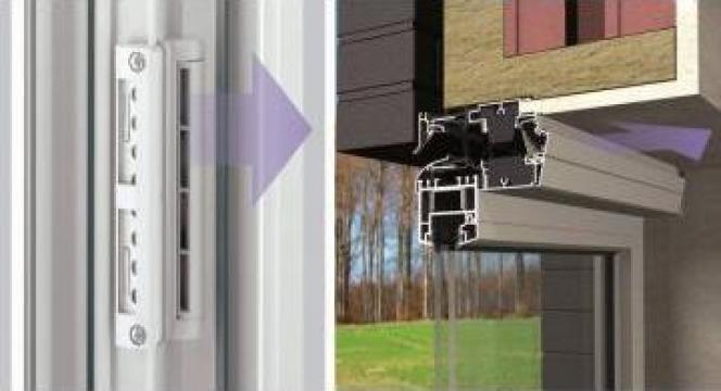 Sisteme de ventilatie pentru ferestre de la Echipa De Tamplarie SRL