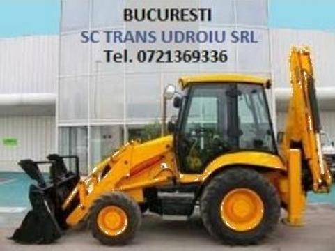 Buldoexcavator JCB 3CX de la Trans Udroiu Srl