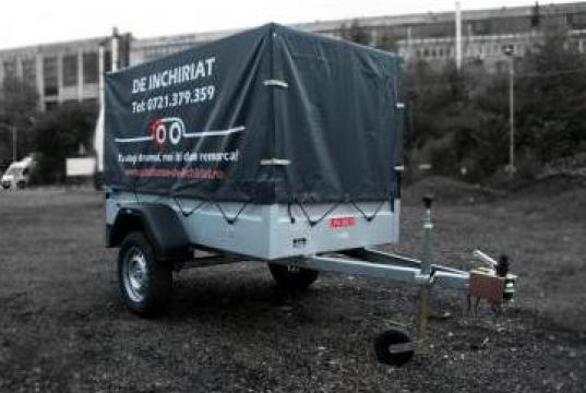 Inchiriere remorca 2m 750 kg cu prelata de la Inchirieri Remorci Berceni