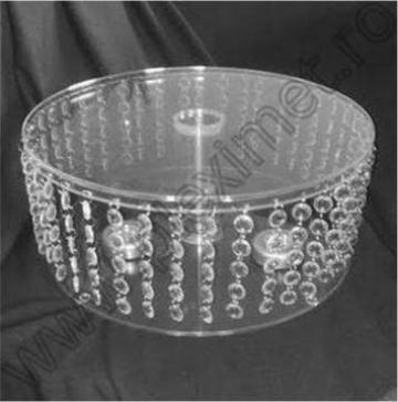Suport de tort cu cristale acrilice SPEv 26.1