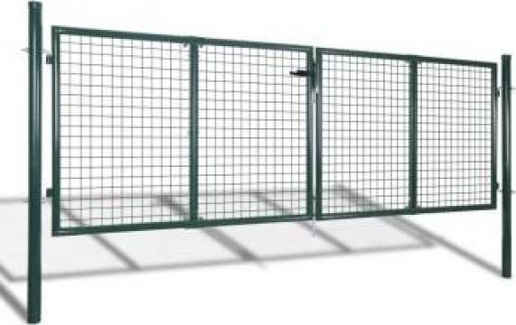 Poarta gradina plasa 289 x 75 cm / 306 x 125 cm
