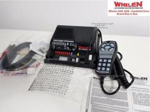 Sirena Politie IGSU Ambulanta Whelen HHS 3200 de la Tehnic & Emergency Light Srl