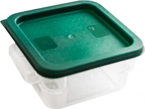 Caserola depozitarea alimentelor din policarbonat cu capac de la Basarom Com