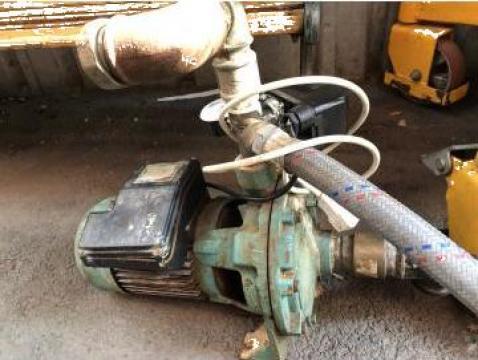 Reparatie pompa 2,2 kw, bobinaj motor, inlocuire rulmenti de la Baza Tehnica Alfa Srl