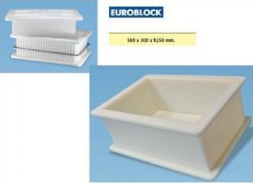 Forma / matrita eurobloc pentru branzeturi