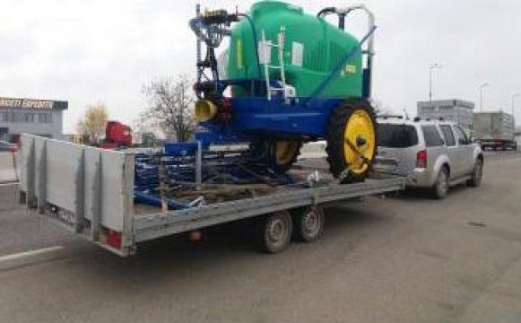 Transport cereale si marfuri generale de la Ivagro Srl