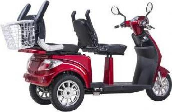 Tricicleta electrica 2 locuri, 1000 W de la Artemis Srl