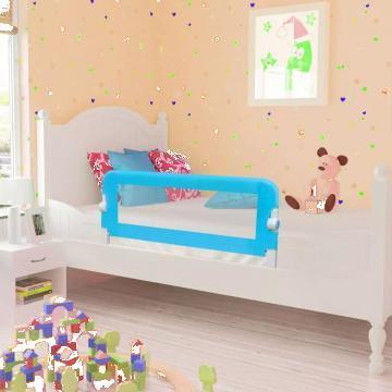 Aparatoare de pat pentru copii mici, 102 x 42 cm, albastru de la Vidaxl