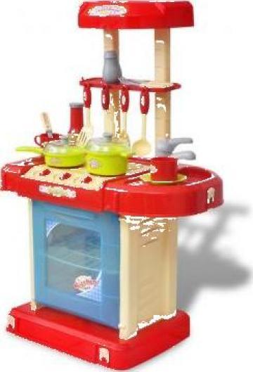 Jucarie bucatarie pentru copii cu lumini si efecte sonore