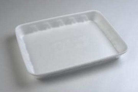 Tavita polistiren PT4 STD (270x185x35mm) 250 buc/bax de la Cristian Food Industry Srl.