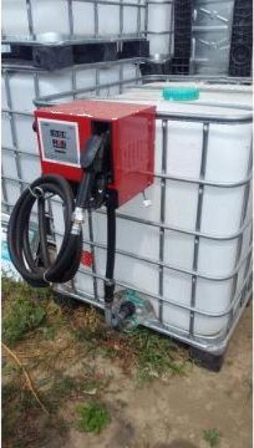 Bazin IBC 1000 litri cu pompa motorina 12V Cube 56 Piusi de la Simba's Group Srl