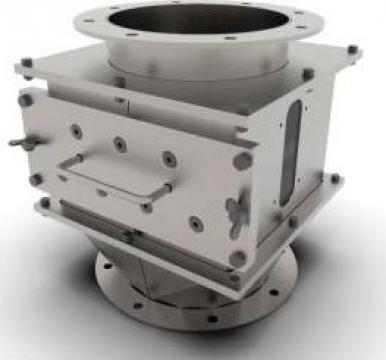 Separatoare magnetice cu curatare manuala de la Axetag
